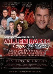 Willem Barth Gipsy Party Rucphen